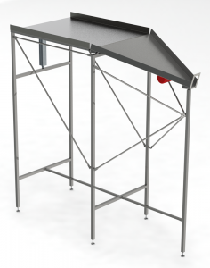 Shaker Unload Table