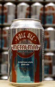Metalman Pale Ale in a Can